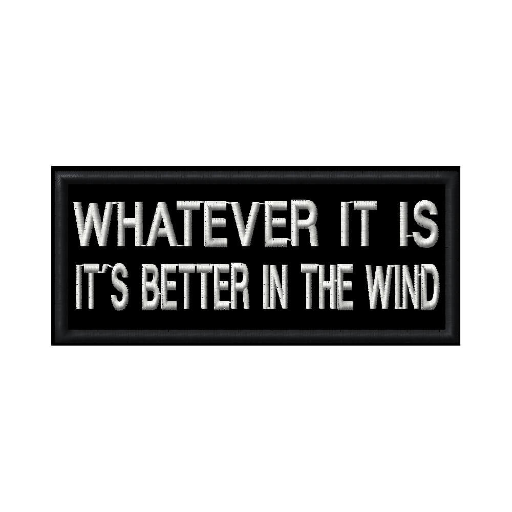 Frase: Whatever it is.