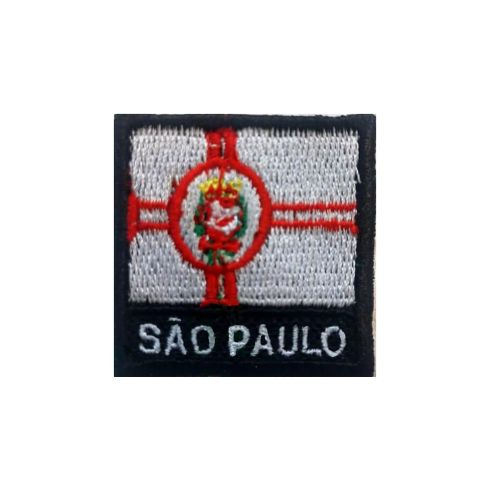 Patch Bandeira 4x4 cm - Cidade de São Paulo (SP)