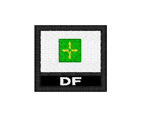Patch Bandeira - Distrito Federal (DF)