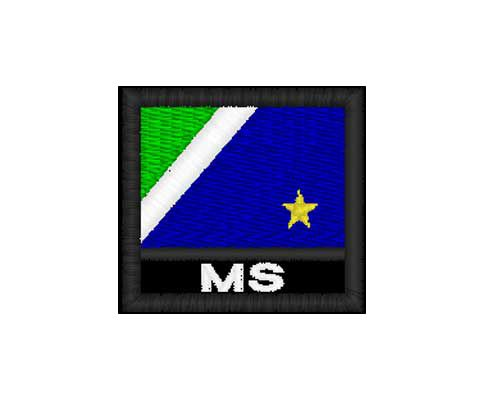 Patch Bandeira - Mato Grosso Do Sul  (MS)