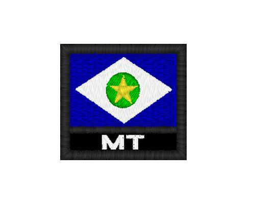 Patch Bandeira - Mato Grosso  (MT)