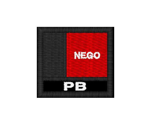 Patch Bandeira  - Paraíba (PB)