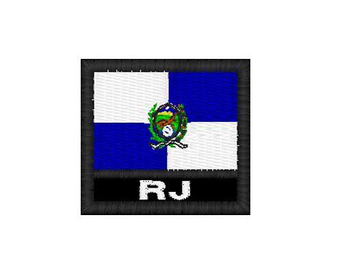 Patch Bandeira - Rio De Janeiro (RJ)