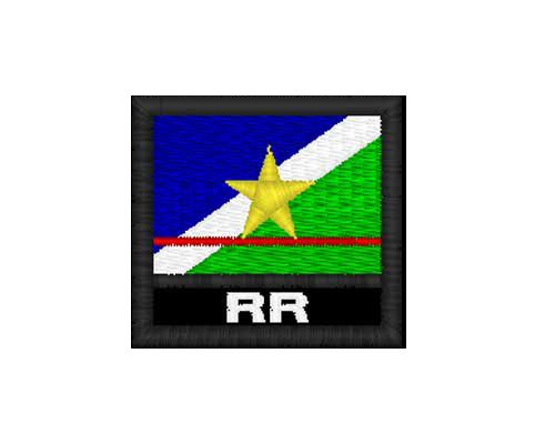 Patch Bandeira - Roraima ( RR)