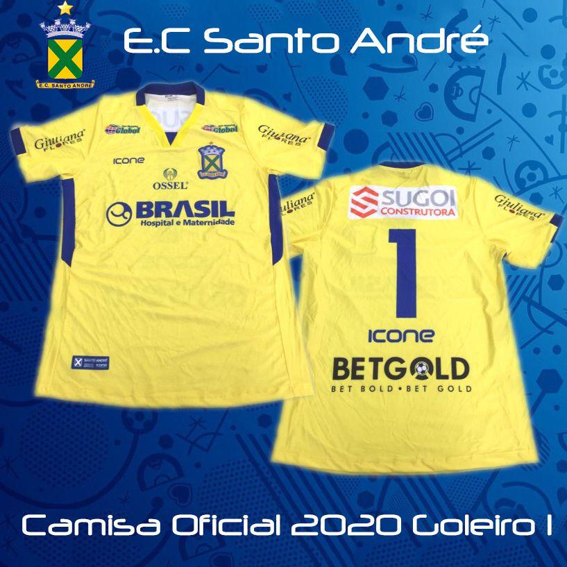 Camisa Ícone Sports Santo André 2020  Goleiro 1
