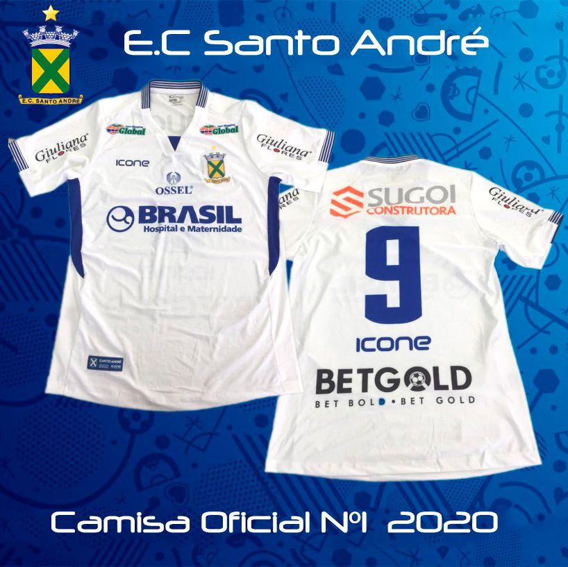 Camisa Ícone Sports Santo André 2020 Uniforme 1