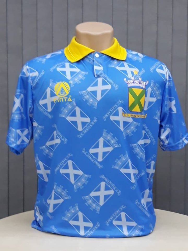 Camisa Retrô Santo André 1992 Uniforme 2