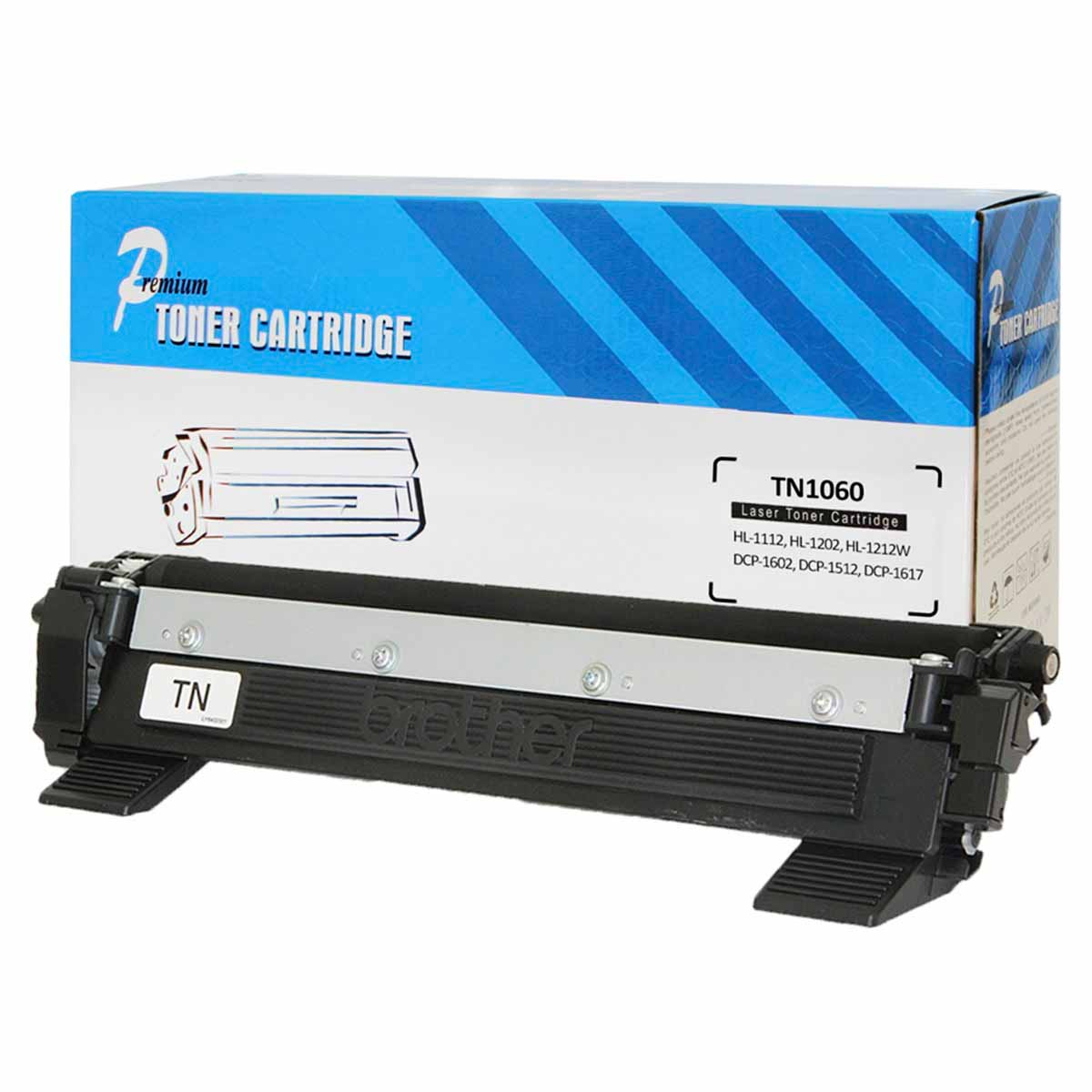 CARTUCHO BROTHER HL-1112/DCP1512 (TN1060) COMPATIVEL