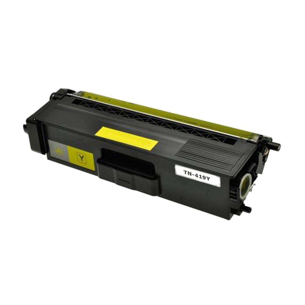 CARTUCHO BROTHER (TN419/416) HL-L8360CDW/MFC-L8610/L8900/L9570 AMARELO 6,5k (COMPATIVEL)