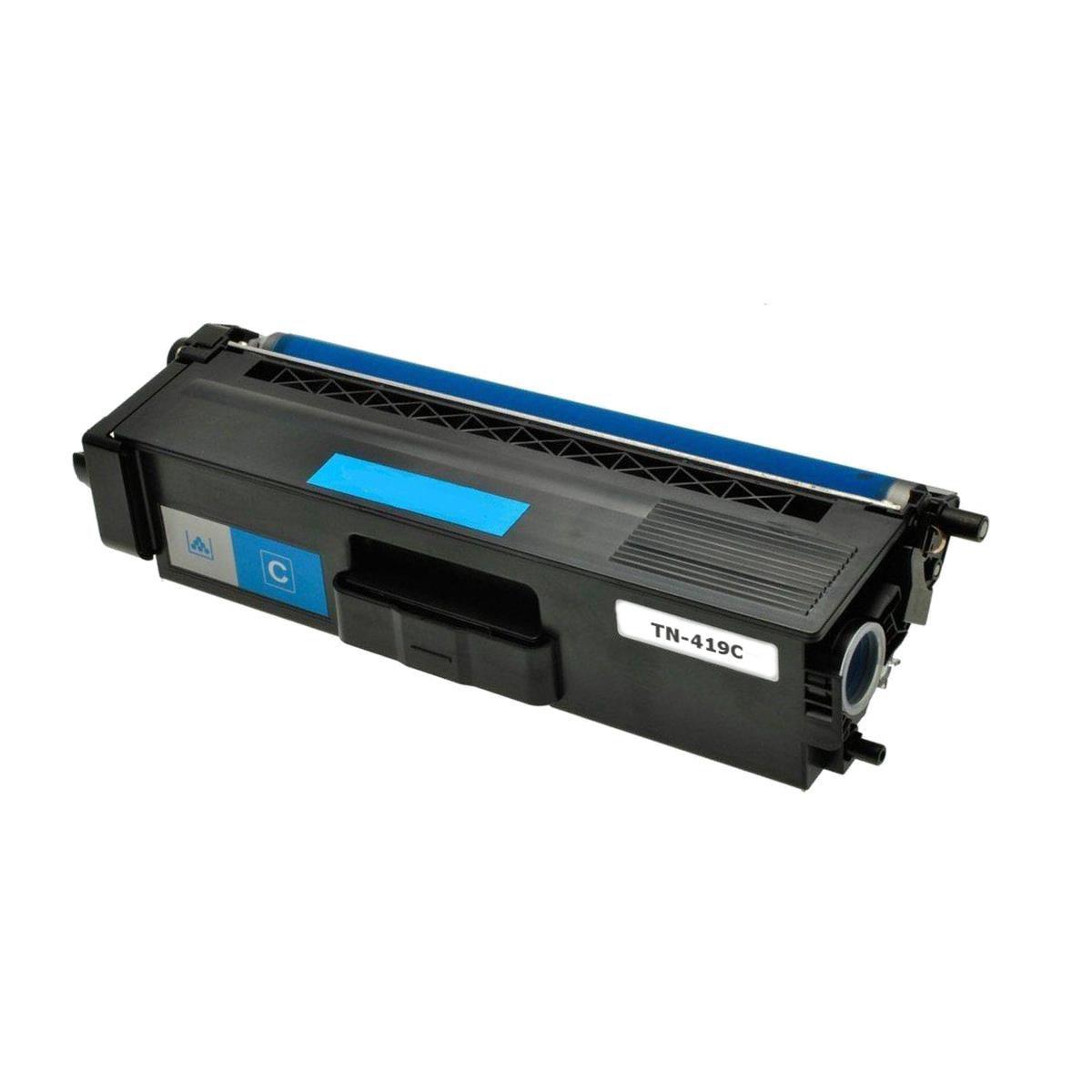 CARTUCHO BROTHER (TN419/416) HL-L8360CDW/MFC-L8610/L8900/L9570 CIANO 6,5k (COMPATIVEL)