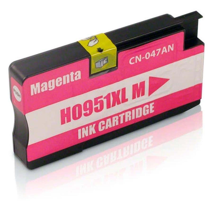 CARTUCHO DE TINTA (CN047A) HP 951XL MAGENTA OFFICEJET 8100/8600W COMPATÍVEL