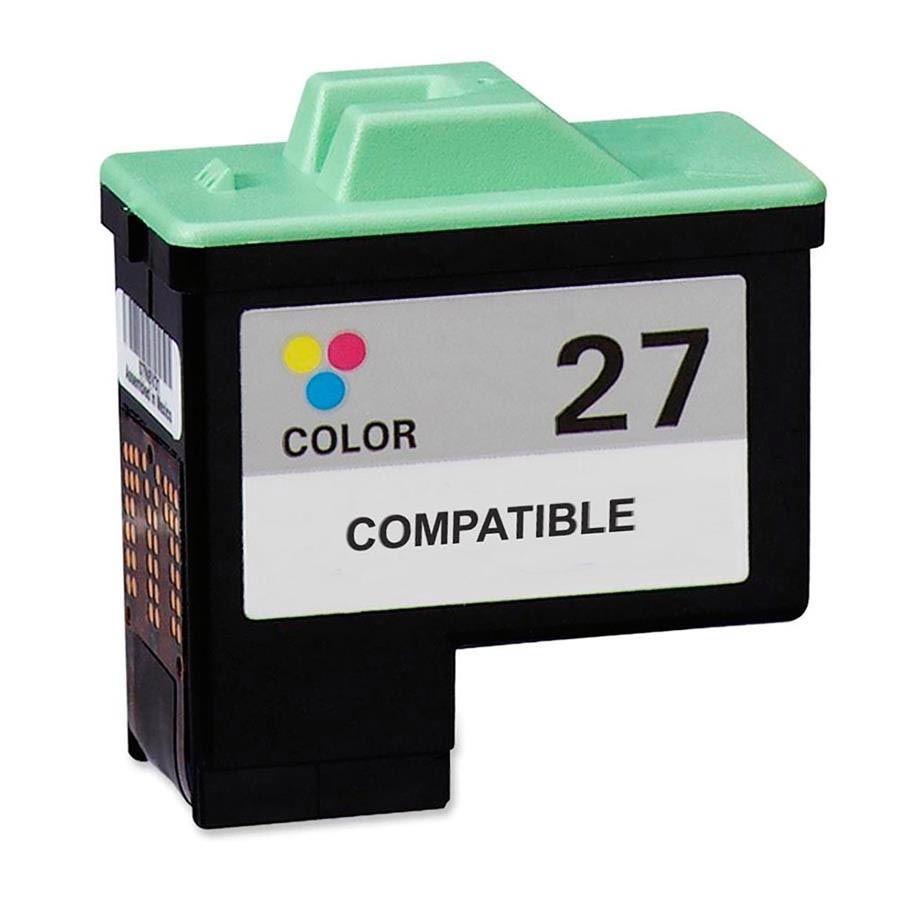 CARTUCHO DE TINTA LEXMARK 26/27 (10N0026) I3/Z35/Z25/Z23/Z33/Z13/X74/X75 COLORIDO (COMPATÍVEL)