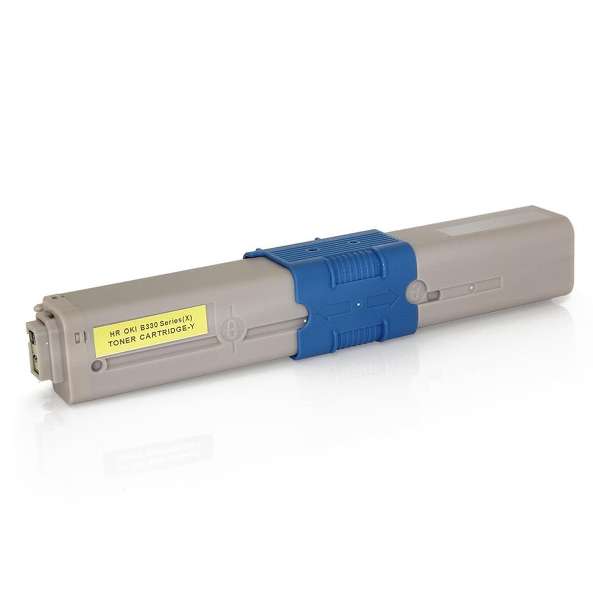 CARTUCHO DE TONER OKIDATA (469704/469701) C310/MC351/C310N/MC361DN/C330/MC561 AMARELO (COMPATÍVEL)