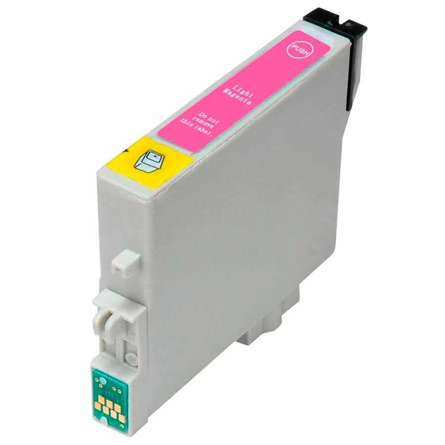 CARTUCHO EPSON T082620 T082 T0826 -  R270/R390/RX590/T50 MAGENTA LIGHT (COMPATÍVEL)