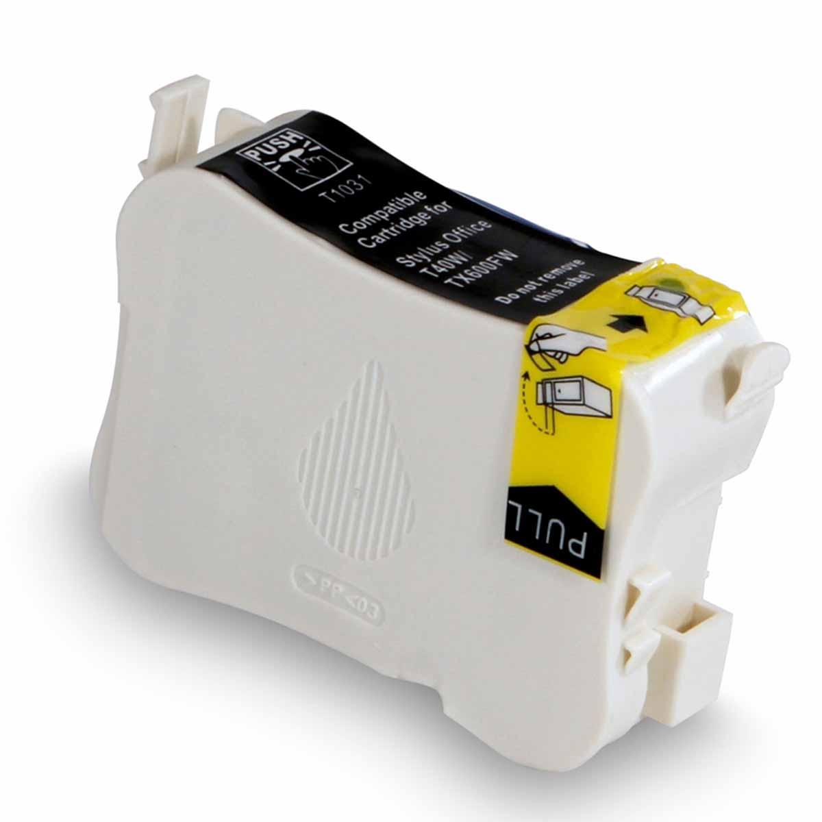 CARTUCHO EPSON T103120 T103 T1031 - T40W/TX550FW/TX600FW BLACK (COMPATÍVEL)
