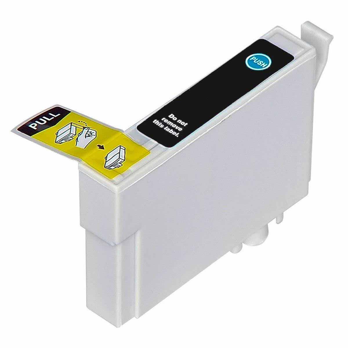 CARTUCHO EPSON T132120 T132 T1321 T22/TX120 BLACK (COMPATÍVEL)