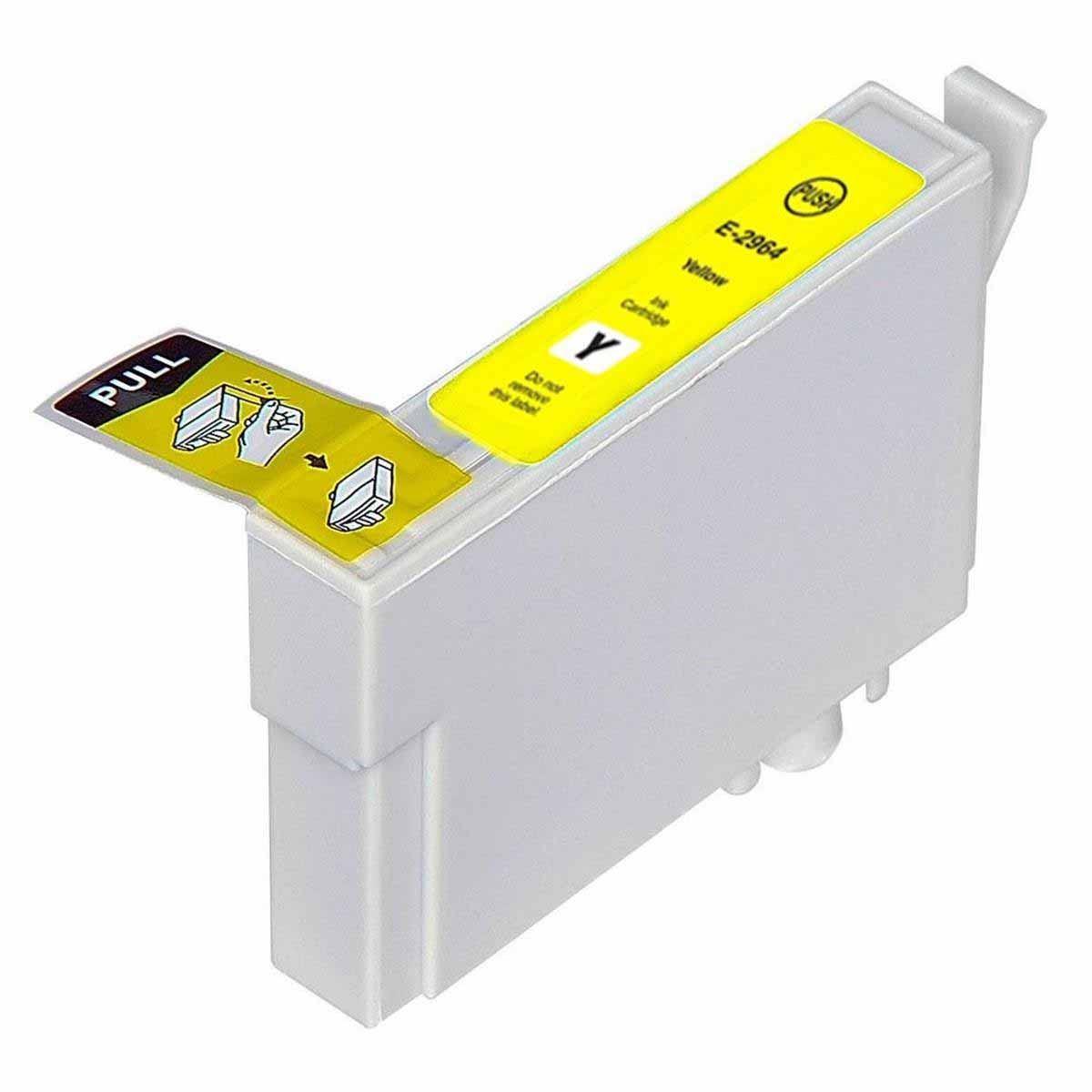 CARTUCHO EPSON T296420 T296 XP-231/XP-241/XP-431/XP441 YELLOW (COMPATÍVEL)