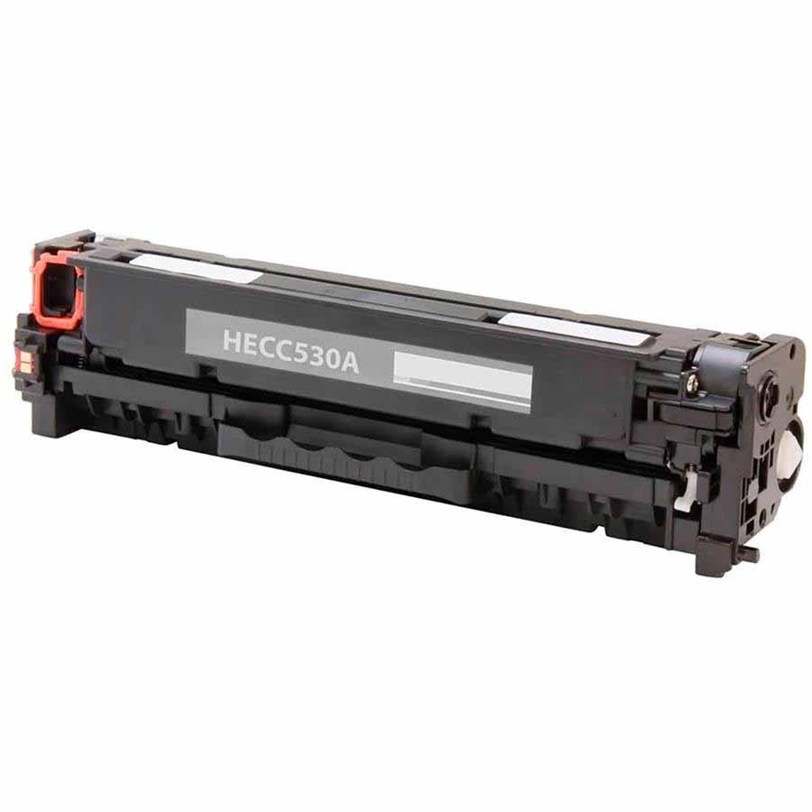 CARTUCHO HP CC530/CE410/CF380A PRETO (COMPATIVEL)