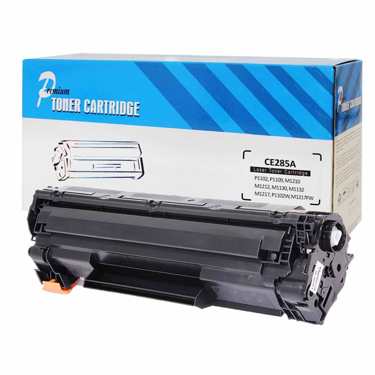 CARTUCHO HP (CE285A/85A/285A/CE285AB) P1102/P1102W/M1132/M1210/M1212 COMPATÍVEL