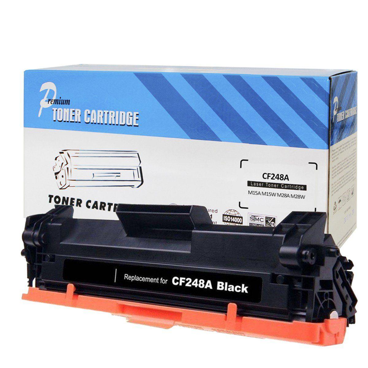 CARTUCHO HP (CF248A/48A) 15/M15/M15A/M15W/28/M28/M28A/M28W COM CHIP COMPATÍVEL