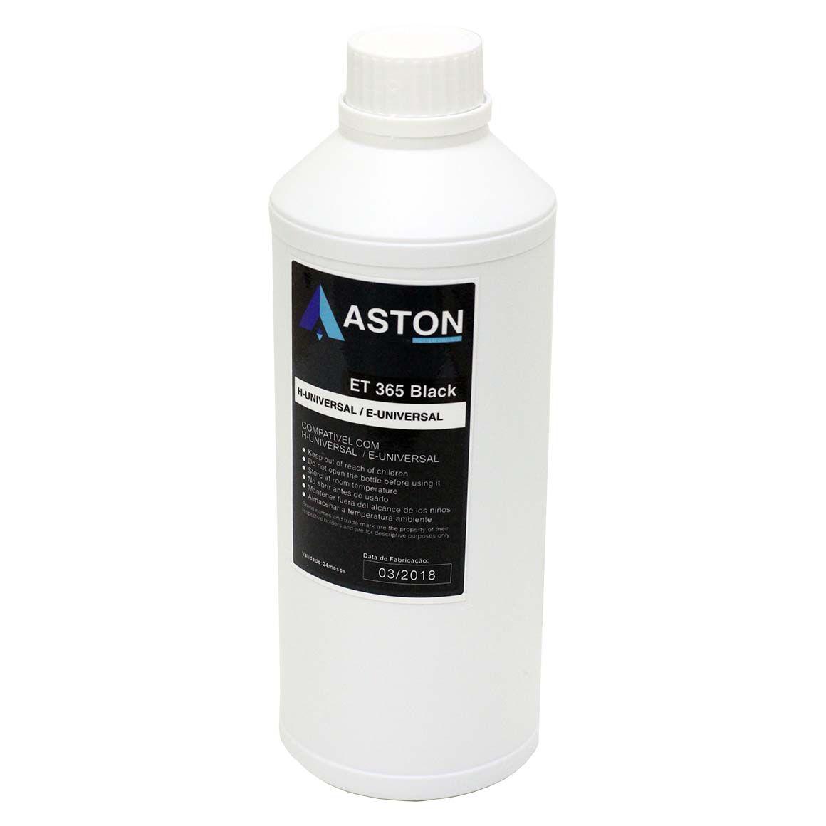 TINTA EPSON/HP UNIVERSAL ASTON PRETO L355/L365/L375/L555/L200/L455/L800 (KG)