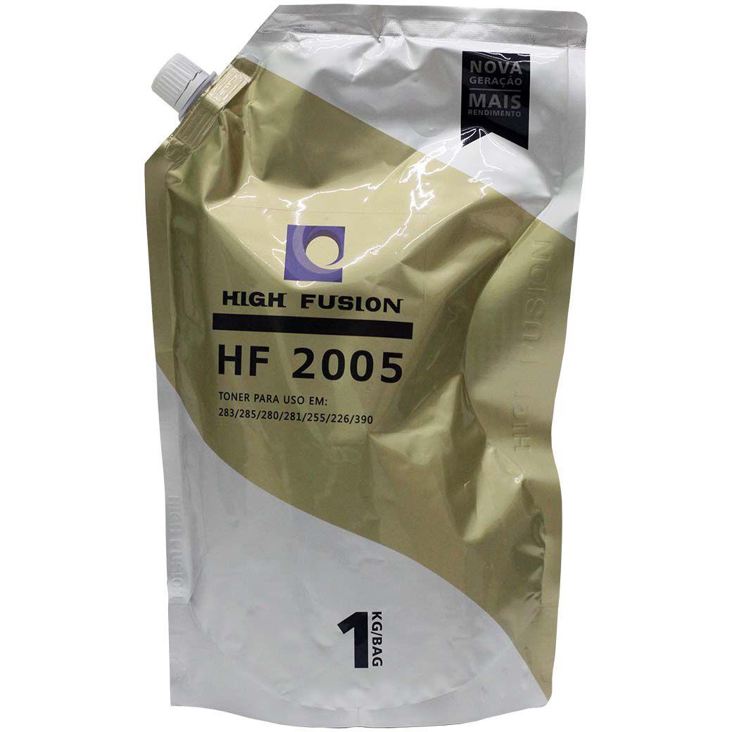 TONER HP UNIVERSAL HP UNIVERSAL HIGH FUSION (HF 2005) HP435/436/CE255/285/505/CC364/CF226/280 (KILO)