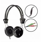 Headphone C3 Tech Tricerix c/ Microfone Preto - MI-2280ERC