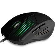 Mouse Gamer C3 Tech 2400dpi Com Iluminação Preto Mg-10bk
