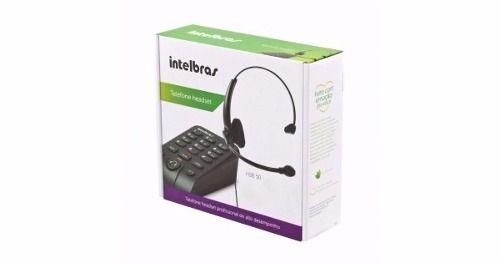 Telefone Headset Auricular Hsb 50 Intelbras