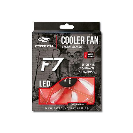 Cooler FAN C3Tech Storm 14CM F7-L200RD