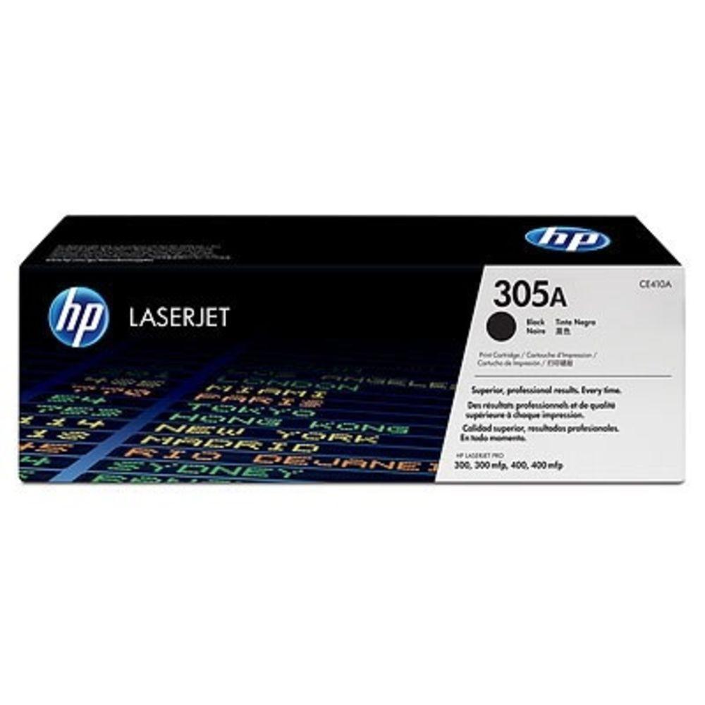Toner HP 305A Preto Laserjet Original (CE410AB) Para HP Laserjet Pro M475dn, M475dw, M451dw CX 1 UN