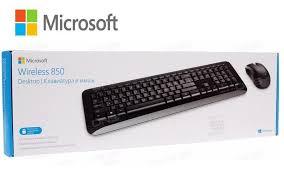 TECLADO E MOUSE SEM FIO DESKTOP 850 USB PRETO - PY900021