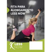 Fita De Alongamento Less Now Fisioterapia Yoga Ou Pilates