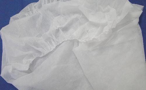 Lençol Tnt Branco Com Elástico 2,00 x 0,90 cm Com 10 Unidades Descartável