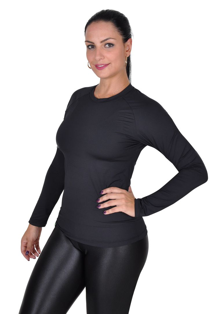 Camiseta Feminina Fator Proteção Solar 50 Uva/Uvb Less Now