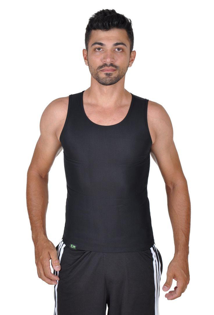 e628802f3 Cinta Slim Modeladora Masculina Less Now Redutora Postural Preta - Arashop