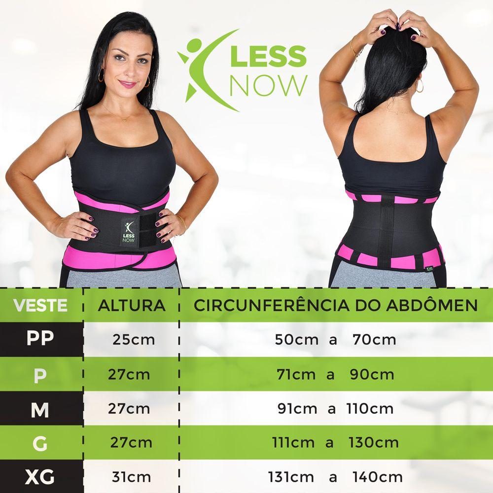 Cinta Térmica Less Now Modeladora e Queima Gordura