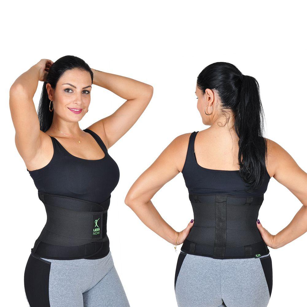 Cinta Térmica  Modela e Queima Gordura  Less Now Feminina