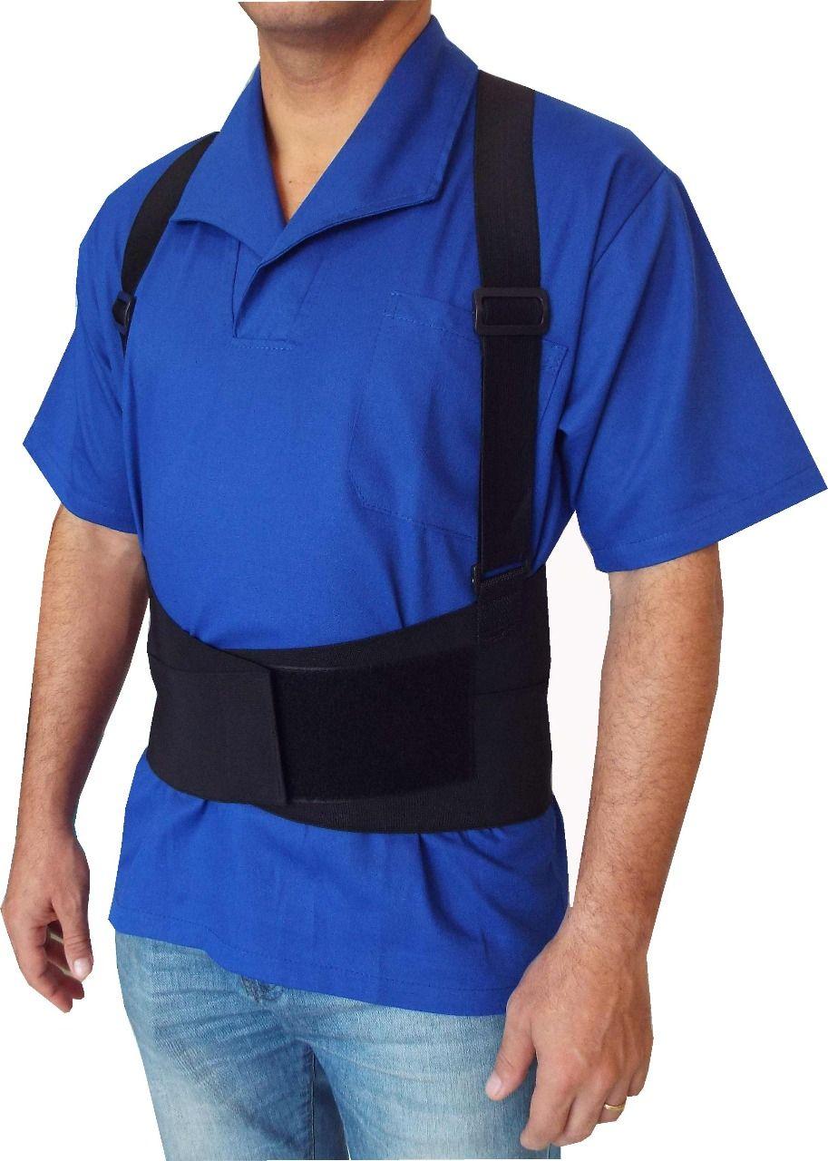 Cinto Ergonômico Abdominal Lombar C/suspensório AR-500