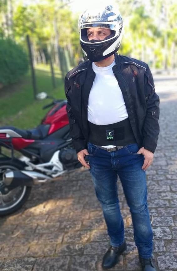 Cinto para Motociclistas Proteção Lombar com Refletivo 3M