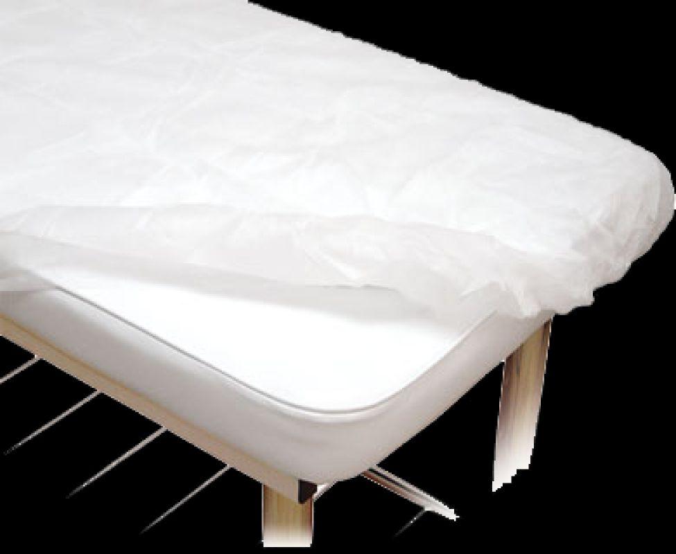 Lençol Tnt Branco Com Elástico 2,00 x 0,90 mts Com 50 Unidades Descartável