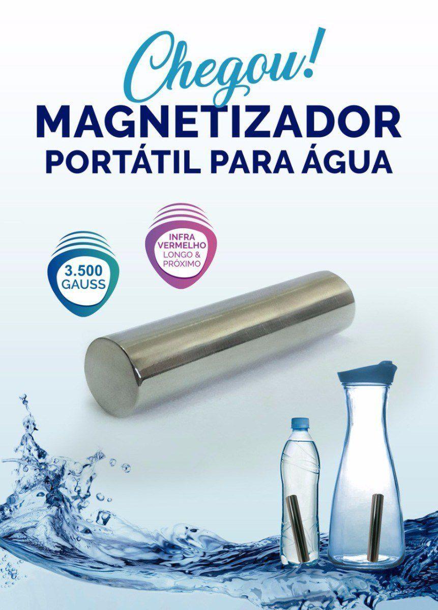 Magnetizador Portátil Para Água C/ Infra Vermelho Less Now  Lançamento