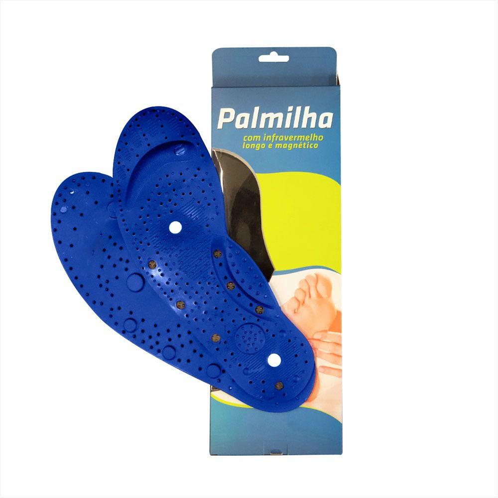 Palmilha Less Now Ortopédica De Silicone Com Infravermelho e Imas Magneticos