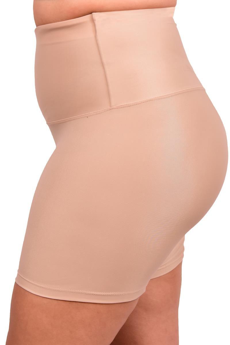 Shorts Modelador Plus Size Do G1 Ao G3 Less Now Cintura Alta