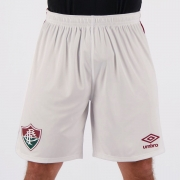 Calção Futebol Fluminense Umbro 2020  Branco