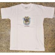 Camisa Colégio Santo Agostinho Branca Infantil e Adulto