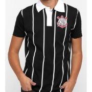 Camisa Polo Corinthians Team Way