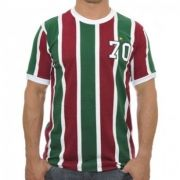 Camisa Retrô Tricolor RJ 1970 Adulto