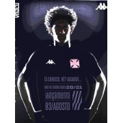Camisa Vasco da Gama home Kappa 2020 Jogo I Juvenil Preta