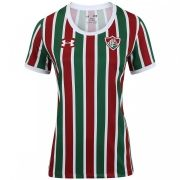 Camiseta Fluminense Tricolor Under Armour Oficial Feminina